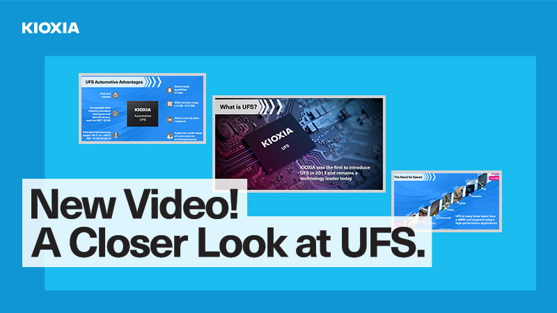 New Video Closer Look at UFS